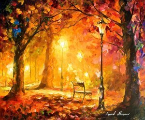 """""""Twinkle of Passion"""" is only one of many paintings by Leonid Afremov which has served to inspire me lately."""