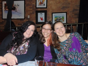 I went out to dinner on the last night of the conference with the other Widener students and faculty who attended the conference. (Photo courtesy of Michael Cocchiarale)